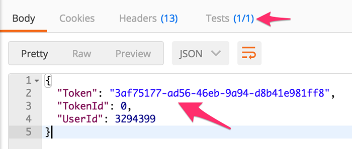 Testing in Postman - Blackbaud ON API